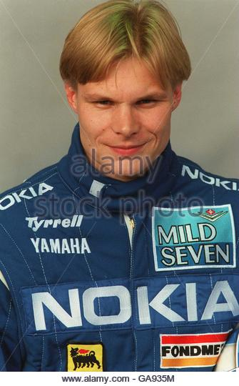 Mika Salo younger photo one at Alamy.com