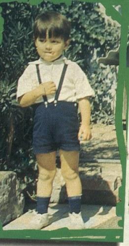Fernando Colunga, foto de infância um em ravepad.com