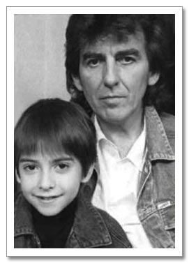 Dhani Harrison childhood photo two at pinterest.com