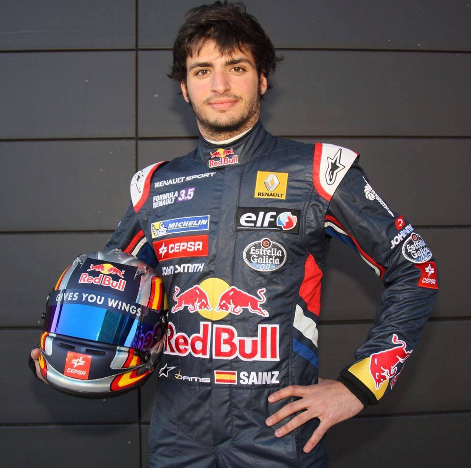 Carlos Sainz Jr. - de charmante en aantrekkelijke coureur met Spaanse roots in 2020
