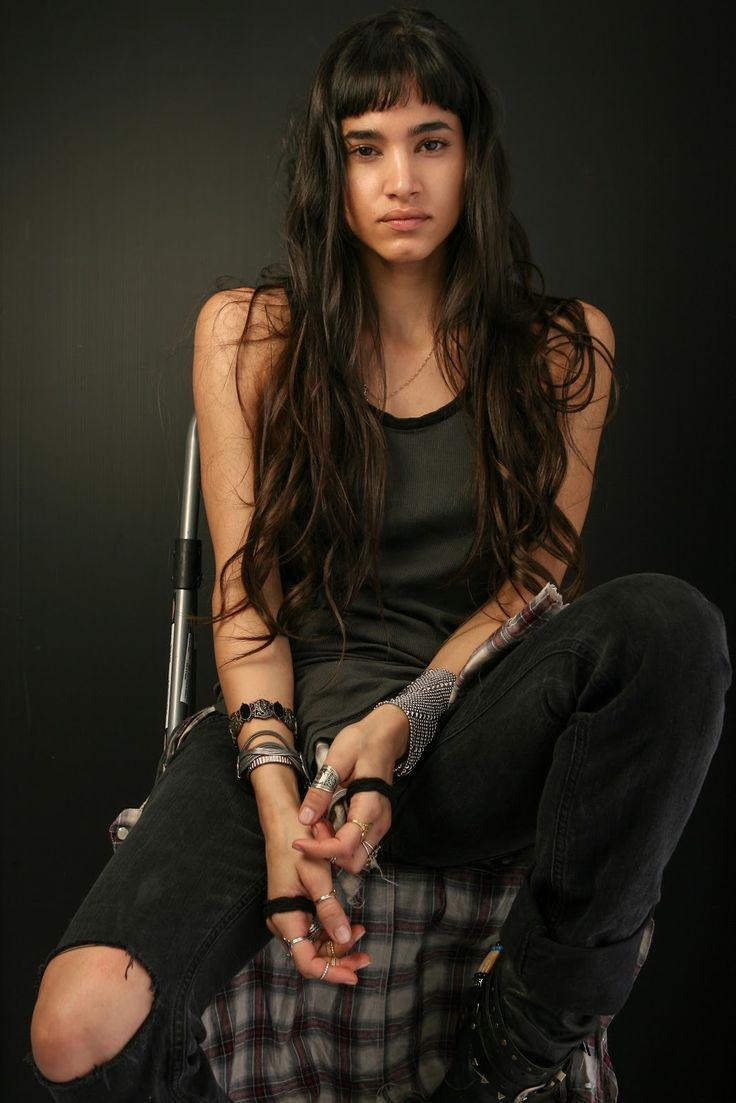 Sofia Boutella younger photo two at pinterest.com