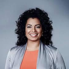 Michaela Pereira - Questa personaggio tv bella, carina, di origine Giamaicana nel 2020