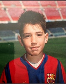 Héctor Bellerín childhood photo one at http://jackdasilva.blogspot.ro