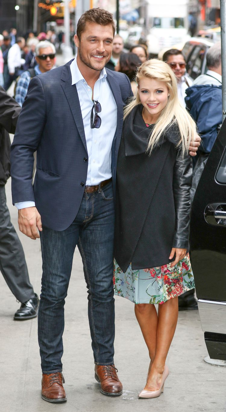 Chris Soules and Witney Carson have been plagued by romance rumors. (INFPhoto.com)