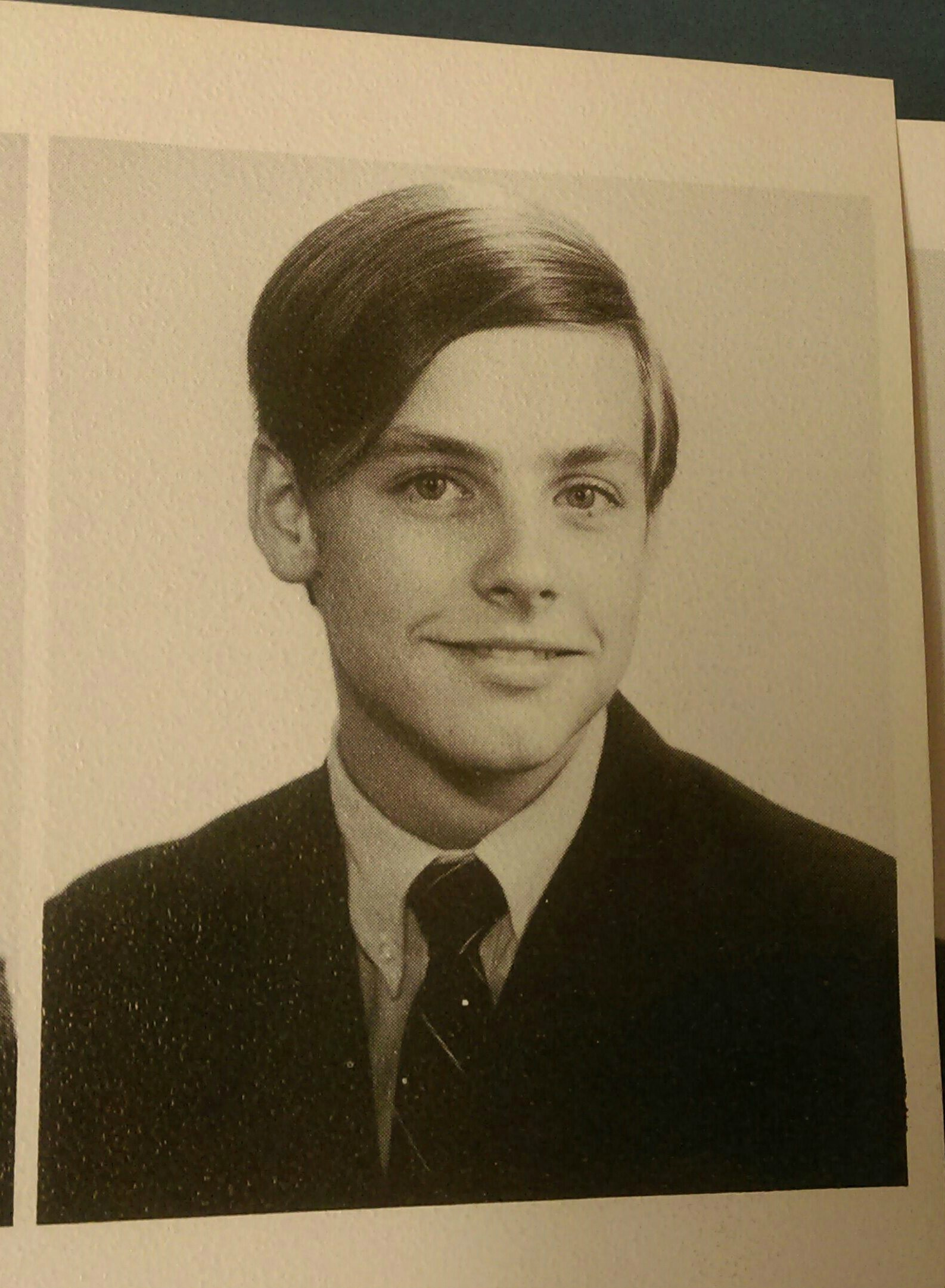 Mark Hamill yearbook photo one at Imgur.com at Imgur.com