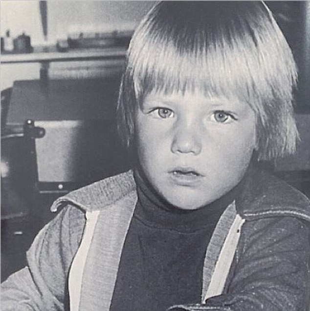 Shane Warne childhood photo one at Dailymail.co.uk