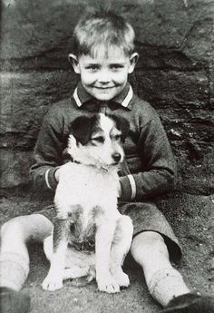 Sean Connery childhood photo one at Pinterest.com