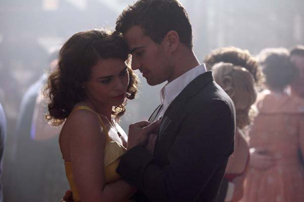 Theo James first movie:  A Passionate Woman