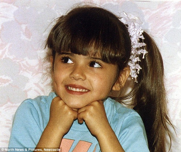 Cheryl Cole childhood photo two at Pinterest.com
