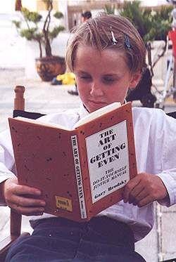 Tom Felton, foto de infância dois em pinterest.com