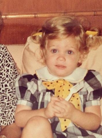 Brittany Snow Kindheitsoto eins bei Pinterest.com