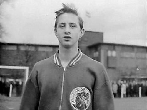Johan Cruyff younger photo one at Pinterest.com