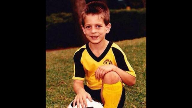 Aaron Rodgers, foto de infância um em rantsports.com