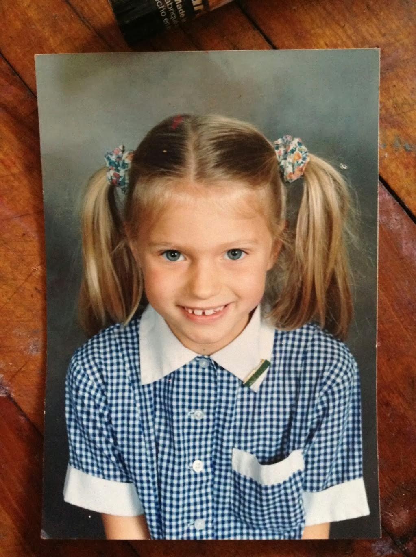 Abbey Lee Kershaw, foto de infância um em thefrontrowview.com