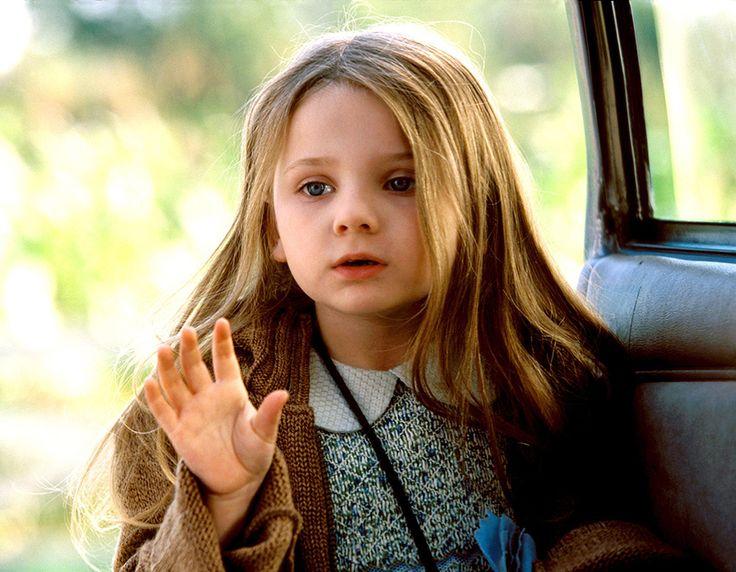 Abigail Breslin, foto de infância um em pinterest.com