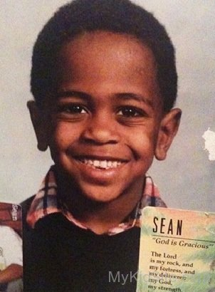 Big Sean childhood photo one at MyKidSite.com