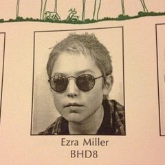 Ezra Miller yearbook photo one at twitter.com at twitter.com