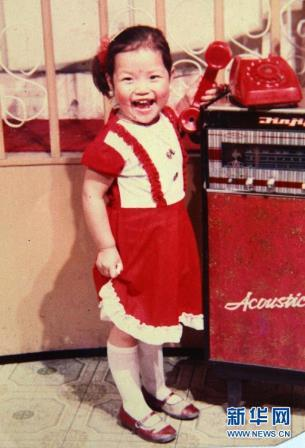 Li Na childhood photo one at Womenstennisblog.com
