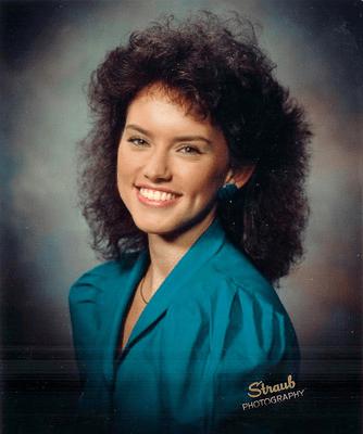Daisy Ridley, foto de anuário um at imgur.com em imgur.com
