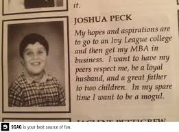 Josh Peck yearbook photo one at Pinterest.com at Pinterest.com