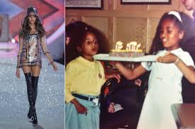 Cindy Bruna childhood photo one at Pinterest.com