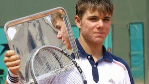 Stan Wawrinka younger photo one at Pinterest.at