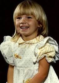Angela Lindvall childhood photo one at Pinterest.com