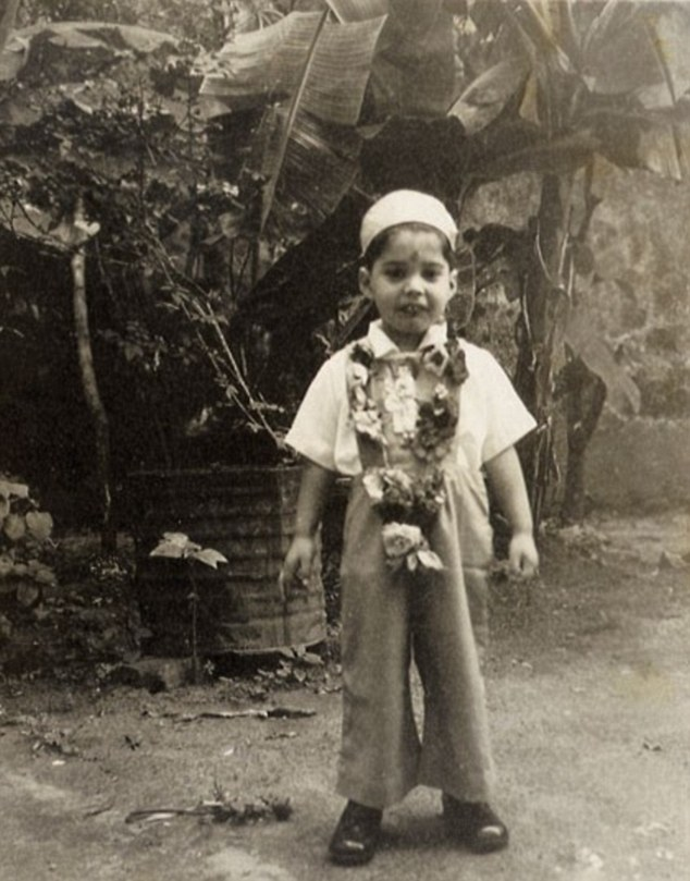 Freddie Mercury childhood photo one at dailymail.co.uk