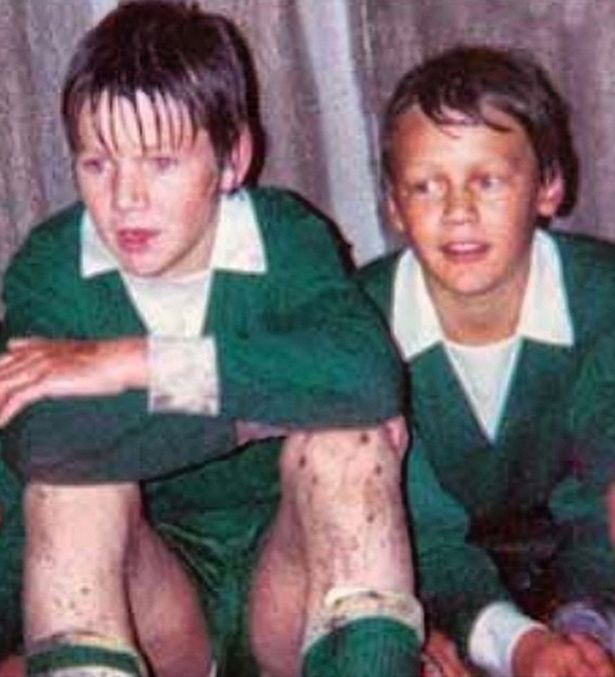 Gordon Ramsay childhood photo one at mirror.co.uk