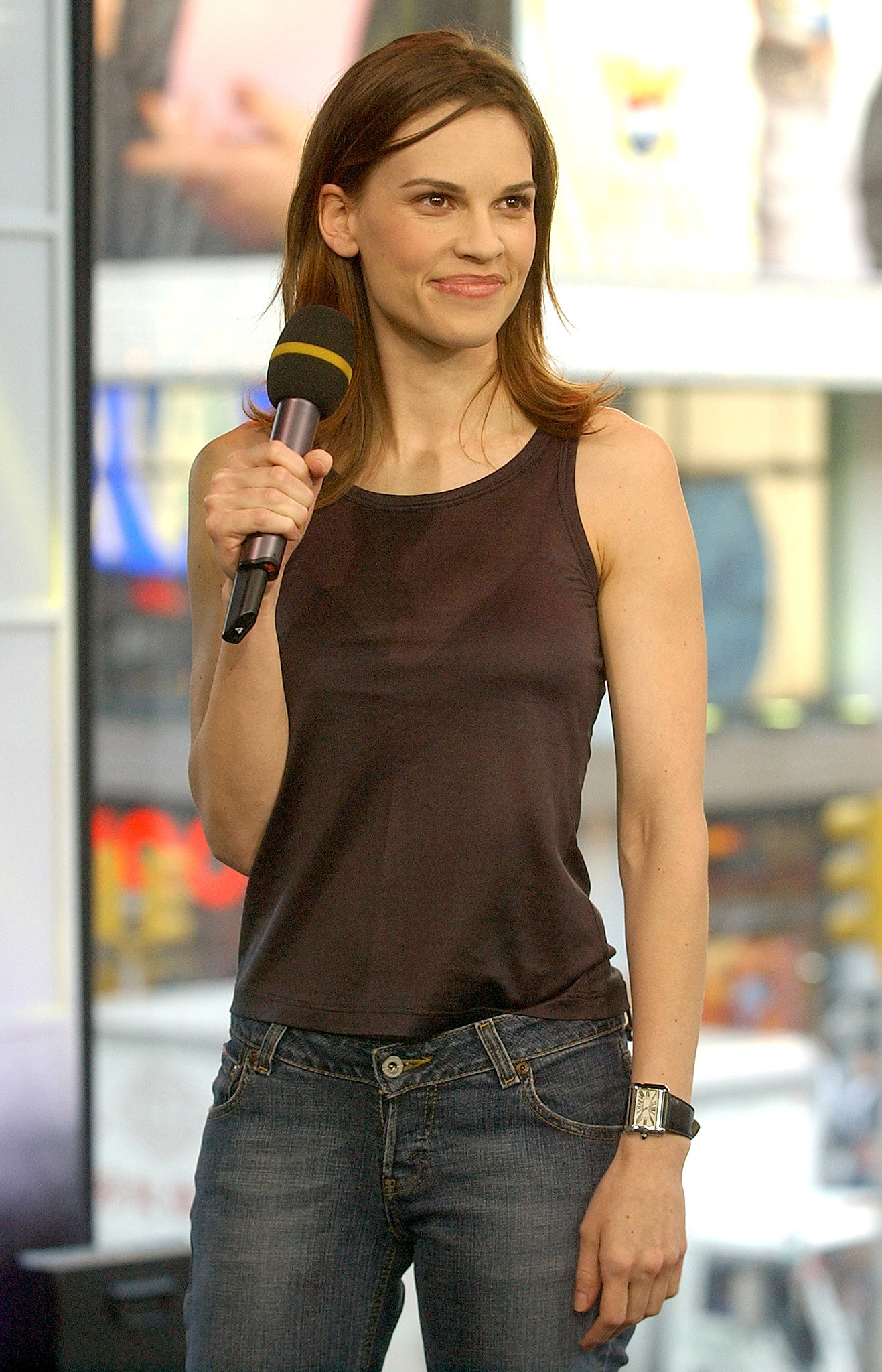 Hilary Swank jongere foto  via pinterest.com