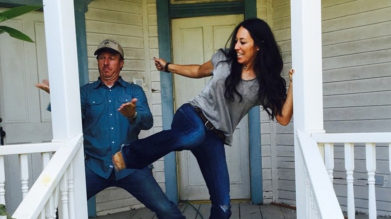 Joanna Gaines first movie:  Fixer Upper