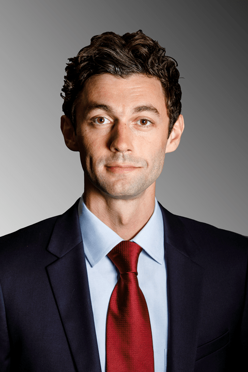 Jon Ossoff - the cute, friendly, intelligent,  politician, director,   with Jewish, English,  roots in 2018