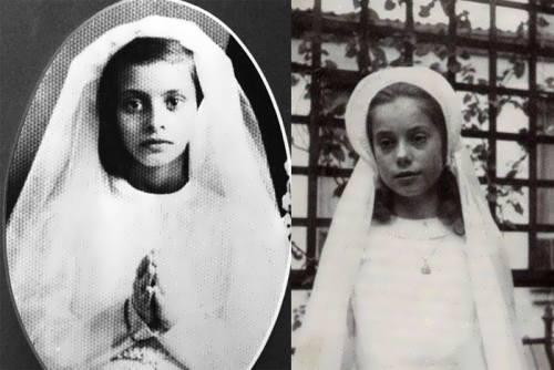 Sophia Loren Kindheitsoto eins bei Mirfaces.com