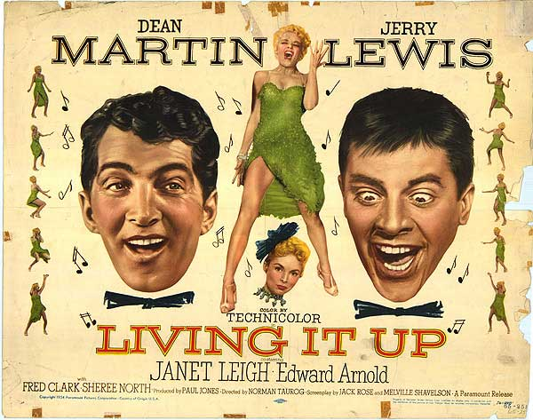 Primer película de Ingrid Steeger:  Living it Up