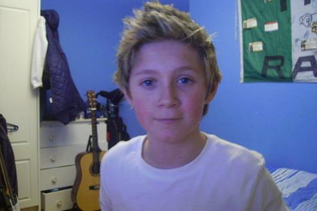 Niall Horan childhood photo two at popcrush.com
