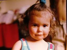 Nina Dobrev childhood photo one at pinterest.com