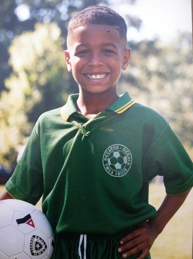 Odell Beckham, foto de infância um em nydailynews.com