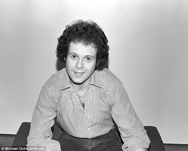Richard Simmons jongere foto een via dailymail.co.uk
