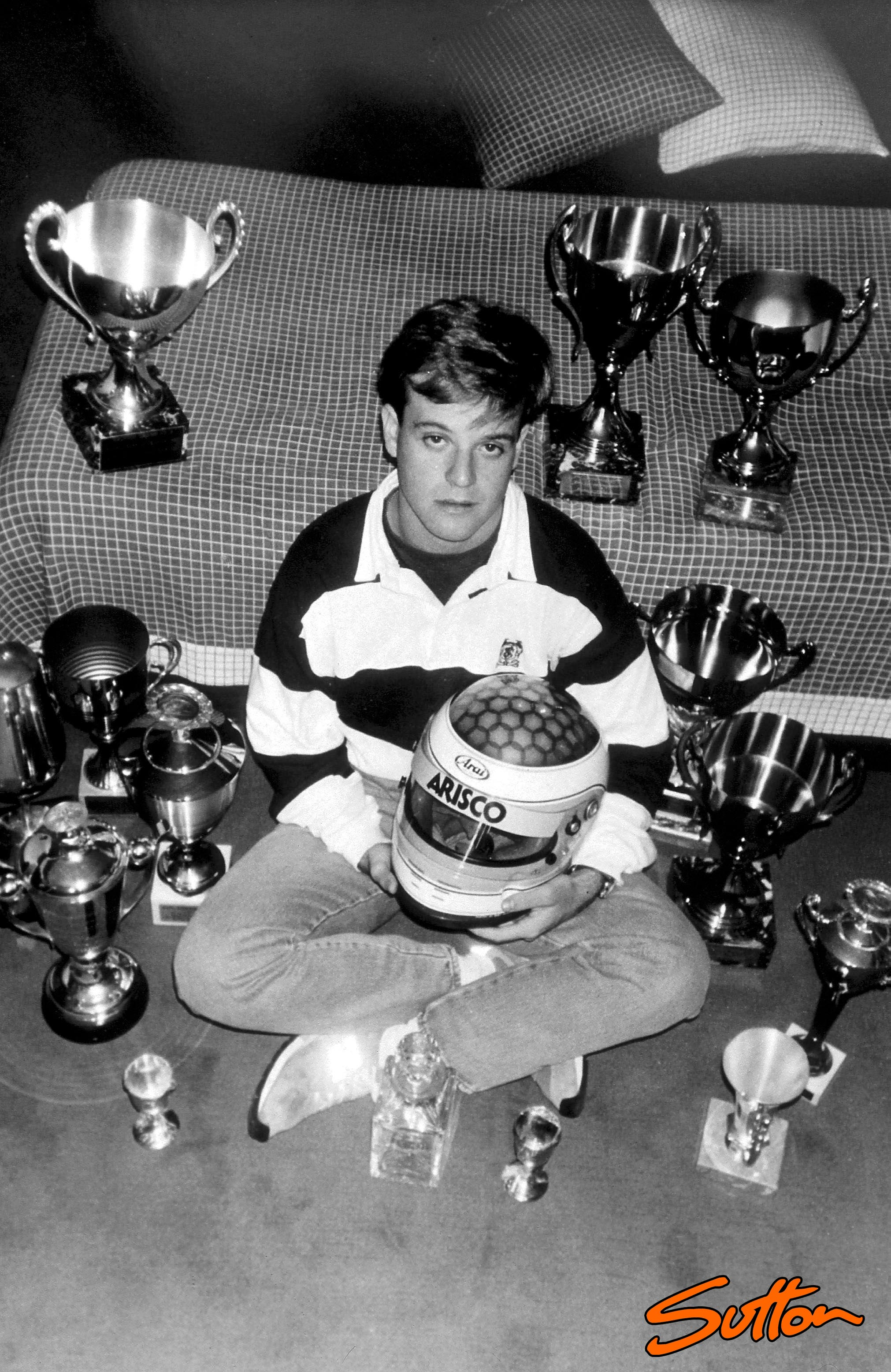 Rubens Barrichello childhood photo one at Motorsportretro.com