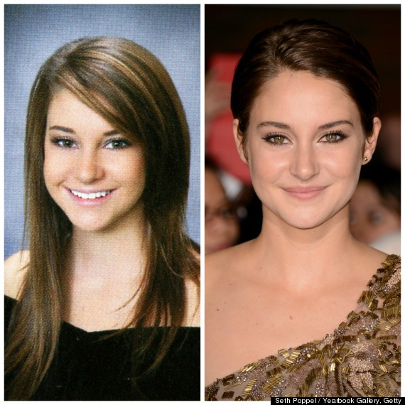 Shailene Woodley yearbook photo one at pinterest.com at pinterest.com