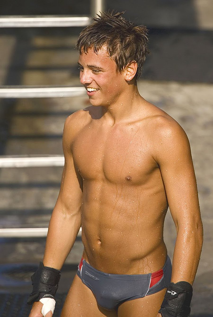 Tom Daley jongere foto drie via blogspot.com