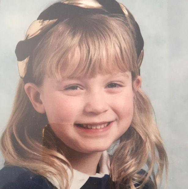 Vicky Pattison kindertijd foto een via Mirror.co.uk