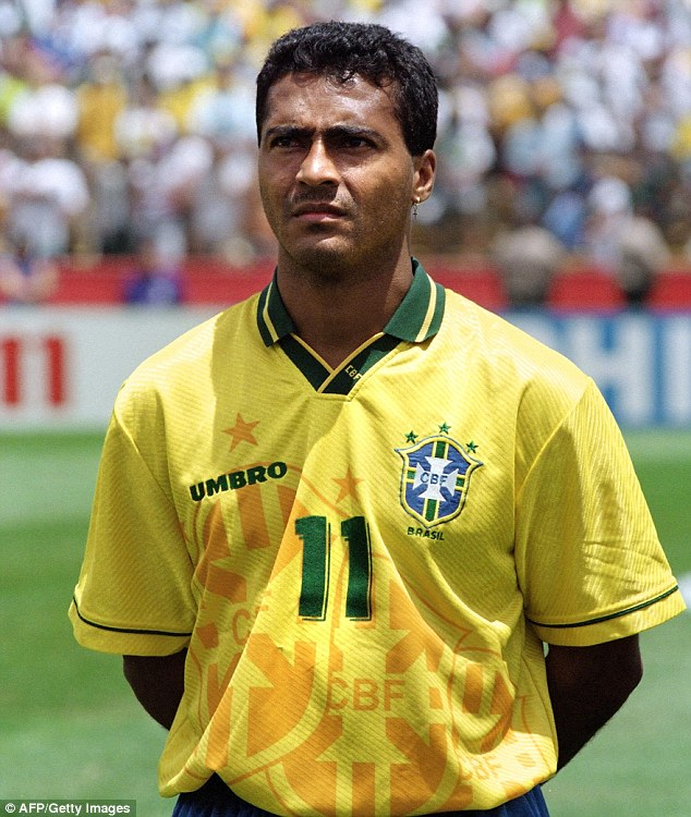 Romário younger photo two at Pinterest.com