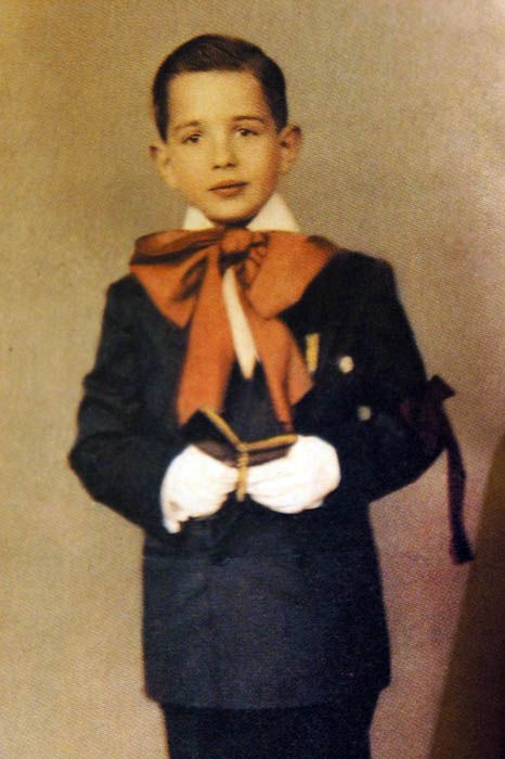 Martin Scorsese childhood photo one at Pinterest.com