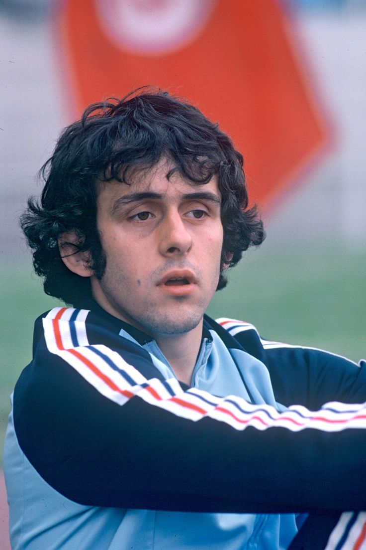 Michel Platini yearbook photo one at pinterest.com at pinterest.com