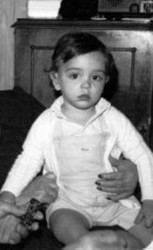 Xavi Hernández childhood photo one at Looking-like-a-cyber-elf.blogspot.com