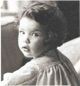 Julianna Margulies kindertijd foto een via Pinterest.com