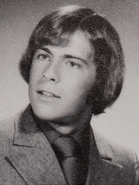 Bruce Willis yearbook photo one at classmates.com at classmates.com