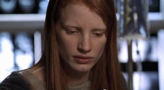 Jessica Chastain first movie:  ER