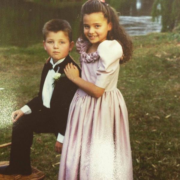 Miranda Kerr childhood photo two at Eonline.com